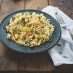 Andean Fusilli Pasta with Mint Sauce